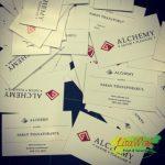 นามบัตร ALCHEMY