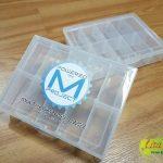 สกรีนกล่องพลาสติก M Project