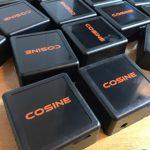 สกรีนกล่องพลาสติก COSINE