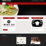ทำเว็บไซต์ร้านอาหาร PHIBAT'S KITCHEN